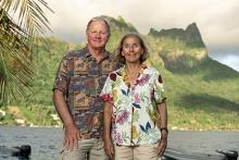 Russ Schmitt and Sally Holbrook